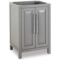 """Jeffrey Alexander - Small Bathroom Vanities - 24"""" Bathroom Vanity in Grey"""
