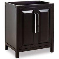 """Jeffrey Alexander - Large Bathroom Vanities - 30"""" Bathroom Vanity in Black"""