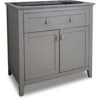 """Jeffrey Alexander - Large Bathroom Vanities - Vanity 35-11/16"""" x 21-7/8 in Grey"""