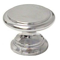 Italbrass - Pullissimi - Polished Chrome Ridge Knob in Polished Chrome