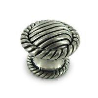 "Vicenza Hardware - Sanzio - Large Knob 1 1/4"" in Satin Nickel"