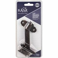 "Kasaware - Functional Hardware - 3-3/8"" Heavy Duty Handrail Bracket in Satin Nickel"