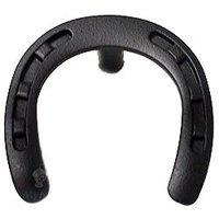 Wild Western Hardware - Matte Black - Horseshoe Knob in Matte Black