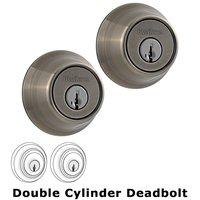 Kwikset Door Hardware - Kwikset - Double Cylinder Deadbolt in Antique Nickel