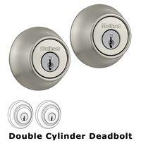 Kwikset Door Hardware - Kwikset - Double Cylinder Deadbolt in Satin Nickel