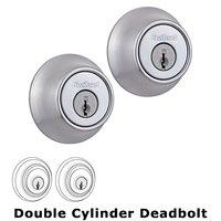 Kwikset Door Hardware - Kwikset - Double Cylinder Deadbolt in Satin Chrome