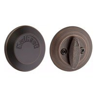 Kwikset Door Hardware - Kwikset - Patio Deadbolt with Exterior Plate in Venetian Bronze