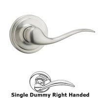 Kwikset Door Hardware - Tustin - Tustin Single Dummy Door Lever in Satin Chrome