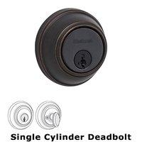 Kwikset Door Hardware - Key Control - Key Control Deadbolt Single Cylinder Deadbolt in Venetian Bronze