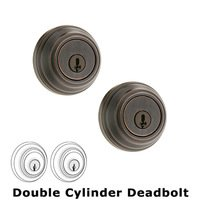 Kwikset Door Hardware - Signature - Deadbolt Double Cylinder Deadbolt in Venetian Bronze