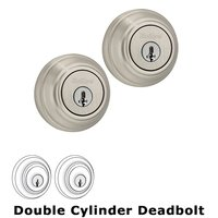 Kwikset Door Hardware - Signature - Deadbolt Double Cylinder Deadbolt in Satin Nickel