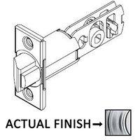 """Kwikset Door Hardware - Door Accessories - 2 3/8"""" Backset Square Gatelatch in Satin Chrome"""