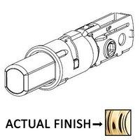 Kwikset Door Hardware - Door Accessories - Adjustable Drive-in Deadbolt Latch for 600 Series in Bright Brass