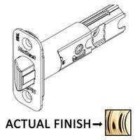 Kwikset Door Hardware - Door Accessories - Adjustable Radius Springlatch in Iron Black