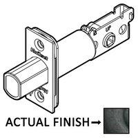 Kwikset Door Hardware - Door Accessories - Square Deadbolt Latch in Dark Bronze