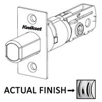 Kwikset Door Hardware - Door Accessories - Adjustable Square Deadbolt Latch for 780 and 980 Series in Iron Black