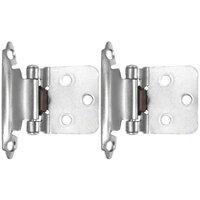 Laurey Hardware - Hinges - (Pair) No Inset Self-Closing Hinge in Antique Brass