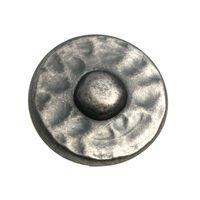 "Laurey Hardware - Nevada - 1 3/8"" Knob in Antique Pewter"