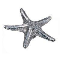 Laurey Hardware - Oceana - Starfish Knob in Polished Chrome