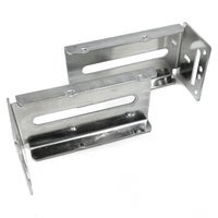 Laurey Hardware - Cabinet Accessories - Rear Bracket for Ball Bearing Side Mount Slides  (1 PAIR PER PACK)
