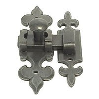 LB Brass - European Country - Cabinet Latch in Rust