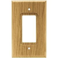 Liberty Hardware - Switchplates I - Single GFI/Decora in Medium Oak