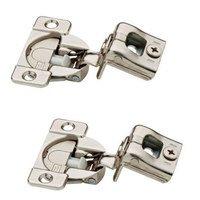 Liberty Hardware - Cabinet Accessories - 35mm 105 Degree 1-1/4 Soft-Close Hinge, 2 per pkg in Nickel