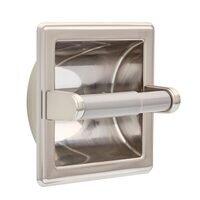 Liberty Hardware - Franklin Brass Jamestown - Paper Holder with Beveled Edges in Satin Nickel