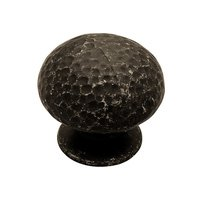 Liberty Hardware - Clearance - Hammered Metal 34mm Hammered Knob