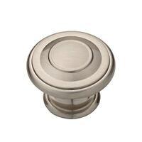 "Liberty Hardware - Cabinet Shop - 1 3/8"" Harmon Knob in Satin Nickel"