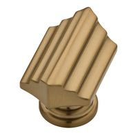 "Liberty Hardware - Julian - 1 1/2"" Step Knob in Champagne Bronze"