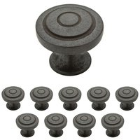 Liberty Hardware - Geary - 1-1/4 Geary Knob, 10 per pkg in Soft Iron