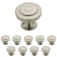 Liberty Hardware - Geary - 1-1/4 Geary Knob, 10 per pkg in Satin Nickel