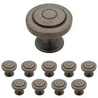 Liberty Hardware - Geary - 1-1/4 Geary Knob, 10 per pkg in Warm Chestnut