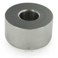 """Linnea Hardware - Door Stops - 1 1/8"""" Door Stop Extension in Polished Stainless Steel"""