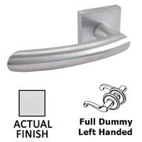 Linnea Hardware - Door Levers - Double Dummy Left Handed Door Lever in Polished Stainless Steel