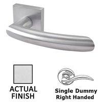 Linnea Hardware - Door Levers - Single Dummy Right Handed Door Lever in Polished Stainless Steel