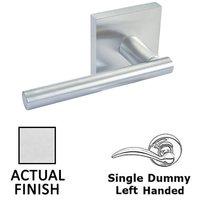 Linnea Hardware - Door Levers - Single Dummy Left Handed Door Lever in Polished Stainless Steel