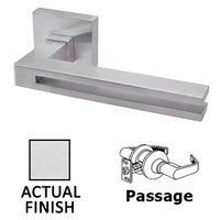 Linnea Hardware - Door Levers - Passage Door Lever in Polished Stainless Steel