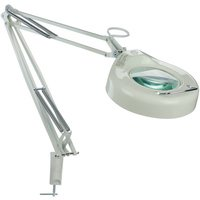 "Lite Source - Desk Light - 41 1/2"" Tall 3-Diopter Magnifier Desk Lamp in White"