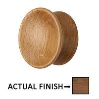 "Manzoni Hardware - Designer Wood - 2 1/4"" Designer Wood Axel Knob in Oak"