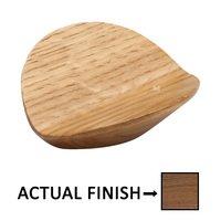 "Manzoni Hardware - Designer Wood - 1 1/4"" Centers Designer Wood Wing Pull in Oak"