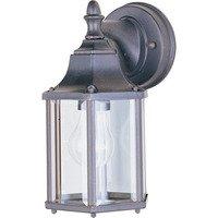 "Maxim Lighting - Builder Cast - 5 1/2"" 1-Light Outdoor Wall Lantern in Empire Bronze"
