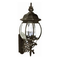 "Maxim Lighting - Crown Hill - 11"" 4-Light Outdoor Wall Lantern in Rust Patina"
