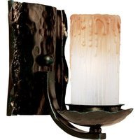 "Maxim Lighting - Notre Dame - 7 1/2"" 1-Light Wall Sconce in Oil Rubbed Bronze with Wilshire Glass"