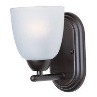 Maxim Lighting - Axis - Wall Sconce in Oil Rubbed Bronze with Frosted Glass