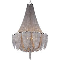 Maxim Lighting - Chantilly - Chantilly 14-Light Chandelier in Polished Nickel