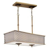 Maxim Lighting - Manchester - Island Pendant in Natural Aged Brass