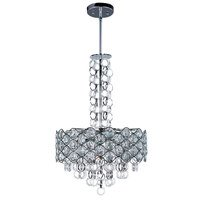 Maxim Lighting - Cirque - Single Pendant in Polished Chrome with Beveled Crystal Glass