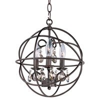 Maxim Lighting - Orbit - Single Tier Chandelier in Oil Rubbed Bronze